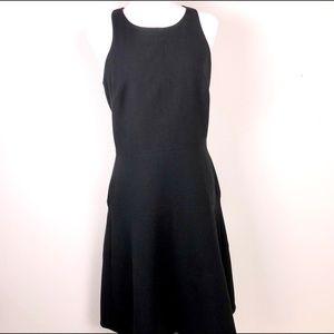 Banana Republic Tall Black Dress Sleeveless Sz 8